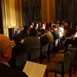 """Aufführung des Liederzyklus von Franz Schubert in der Frankfurter Loge """"Zur Einigkeit"""""""